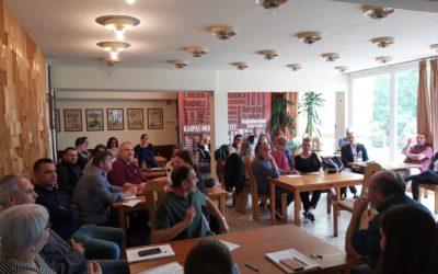 Stratégiai megbeszélésen a Magyar Házak munkatársai Szegeden
