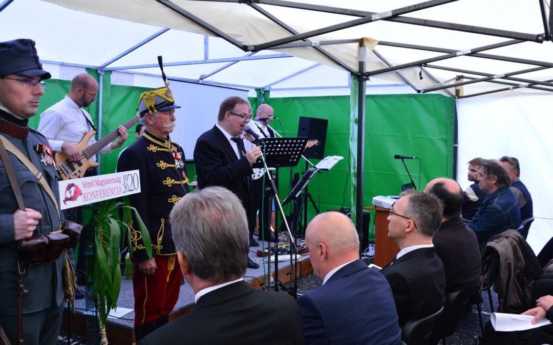 Vérző Magyarország címmel szervezett emlékkonferenciát az Őrvidék Ház
