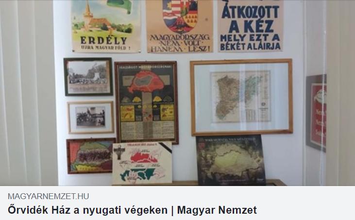 Az Őrvidék Házról írt a Magyar Nemzet