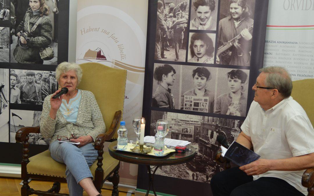 Az 56-os szabadságharcos, Wittner Mária kötetét mutattuk be